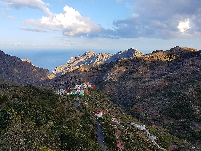 Anaga gebergte Tenerife