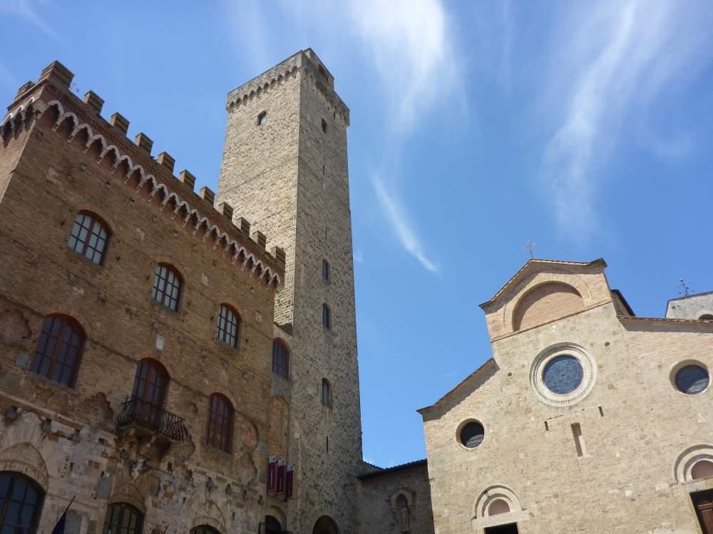 Sfeerbeeld van San Gimignano in Toscane