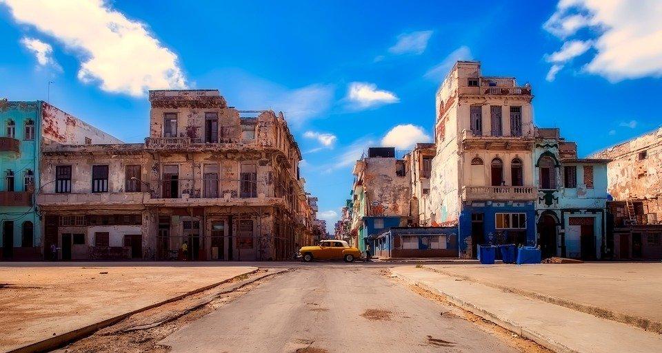 Sfeerbeeld van Havana, de hoofdstad van Cuba