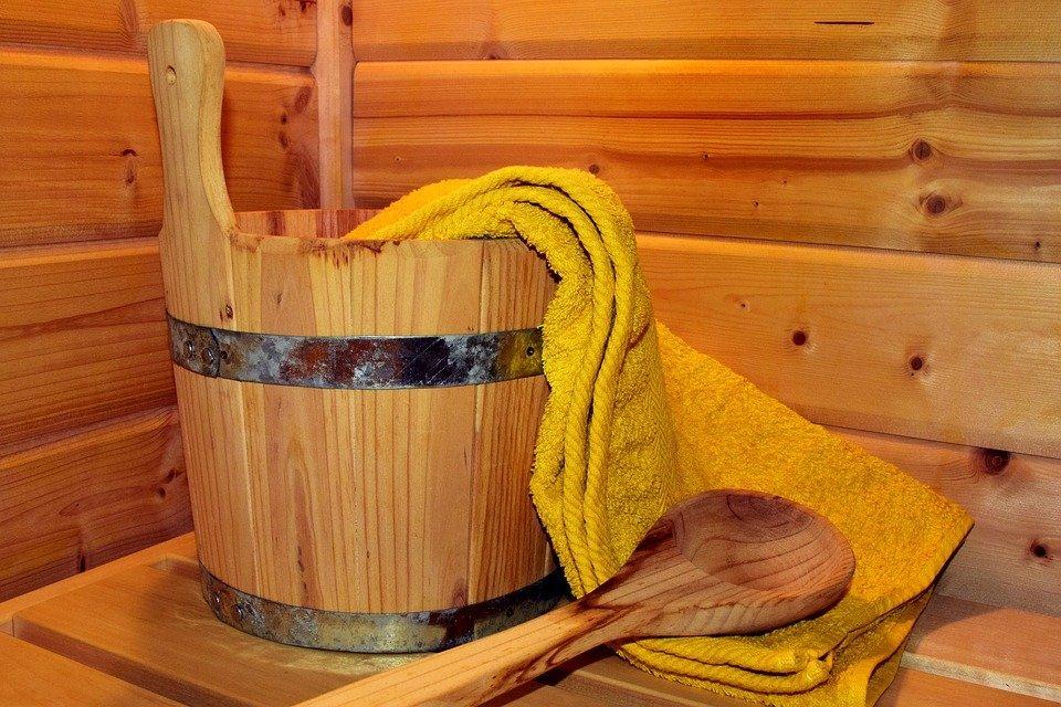 Genieten in de sauna van Thermae 2000 Valkenburg