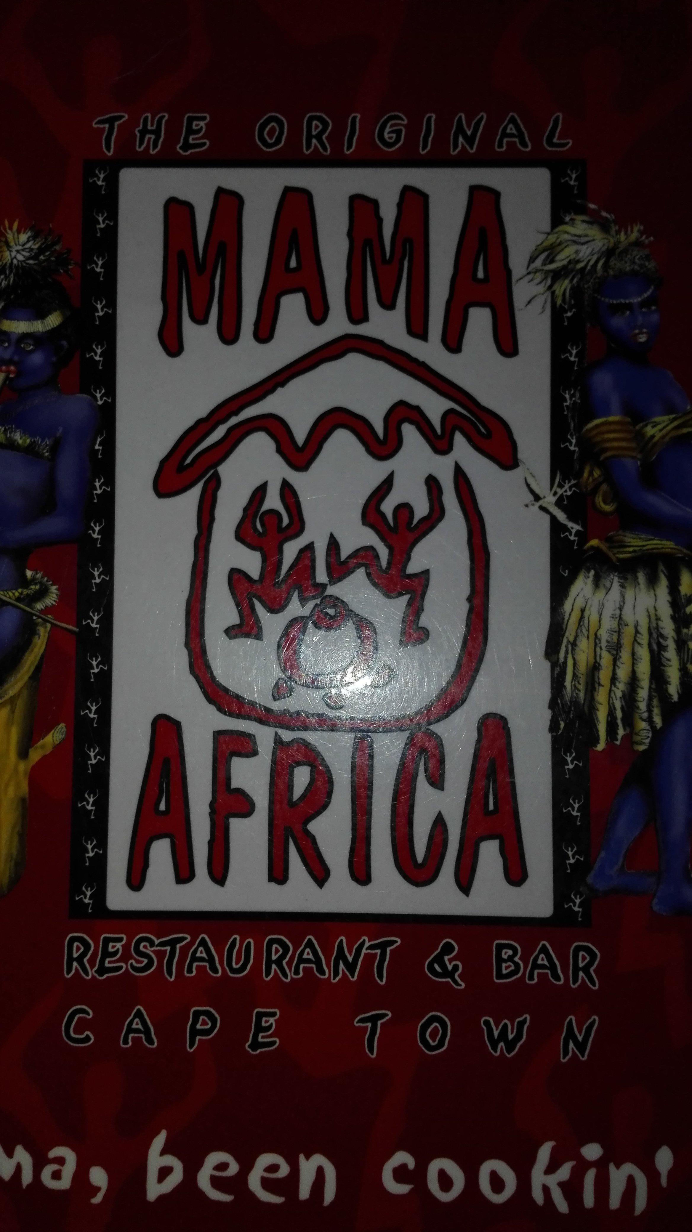 Lekker eten bij Mama Africa