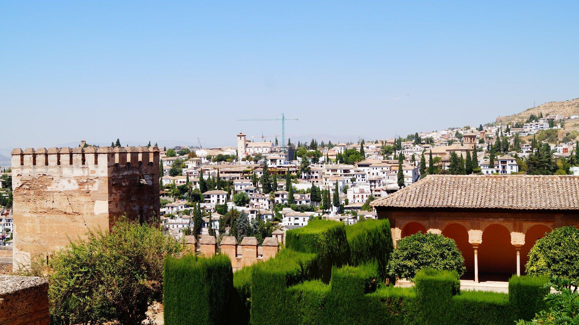 Uitzicht over Albaycin