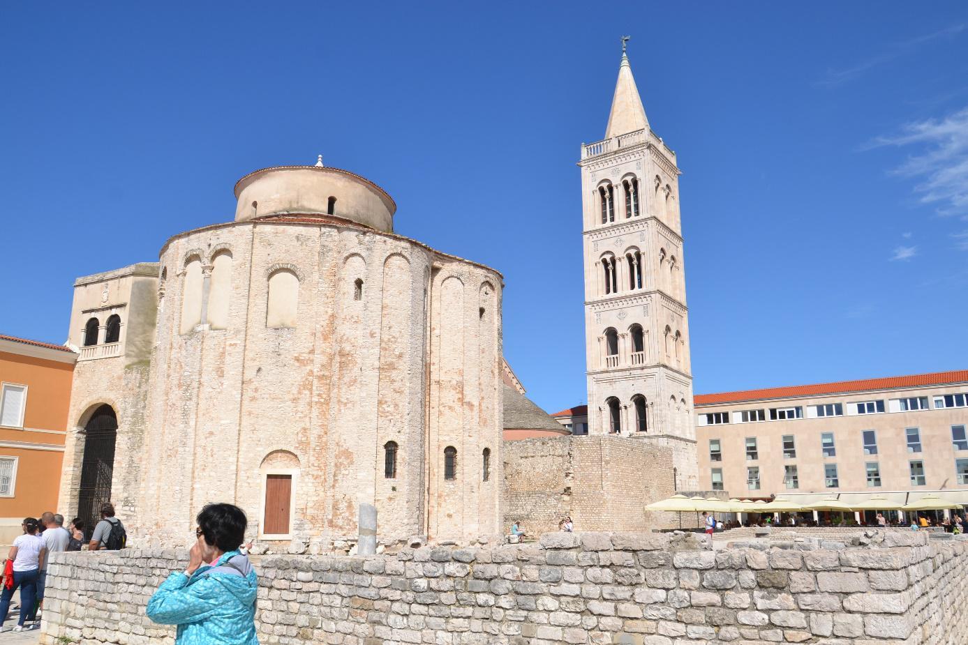 Zadar, historisch stadje in Kroatië
