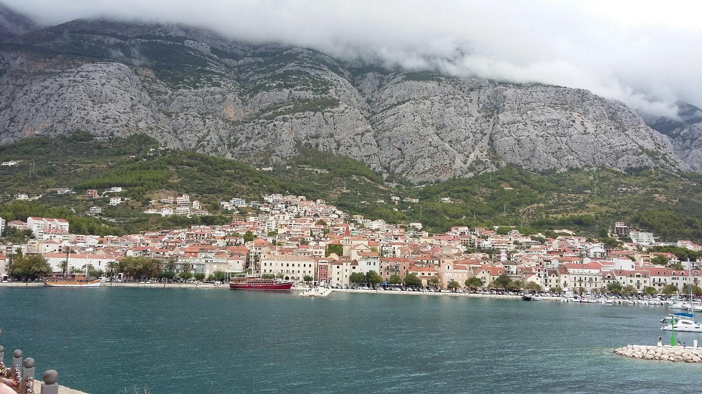 Makarska aan de Adriatische Zee