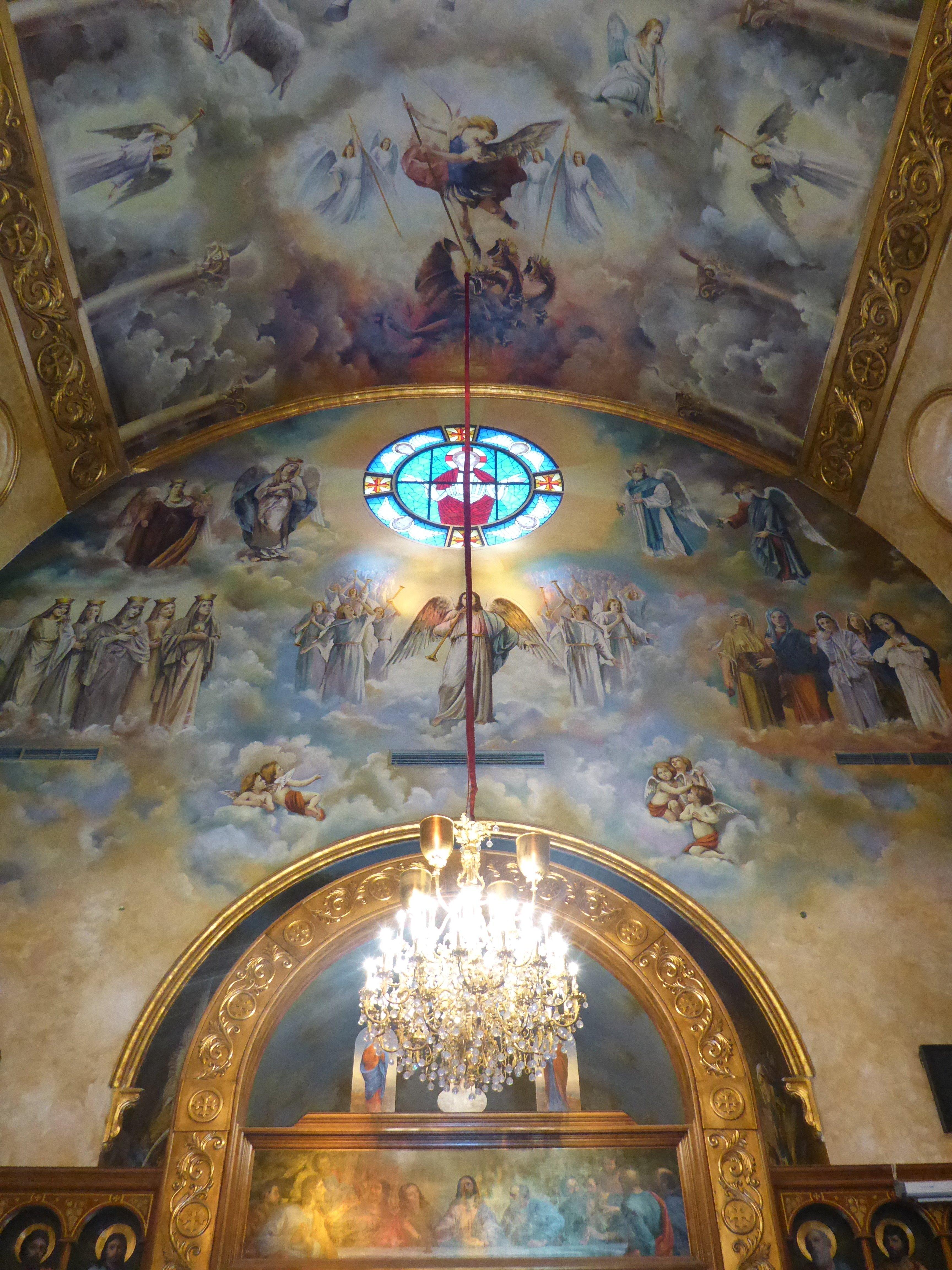 Bezoek van een koptische kerk