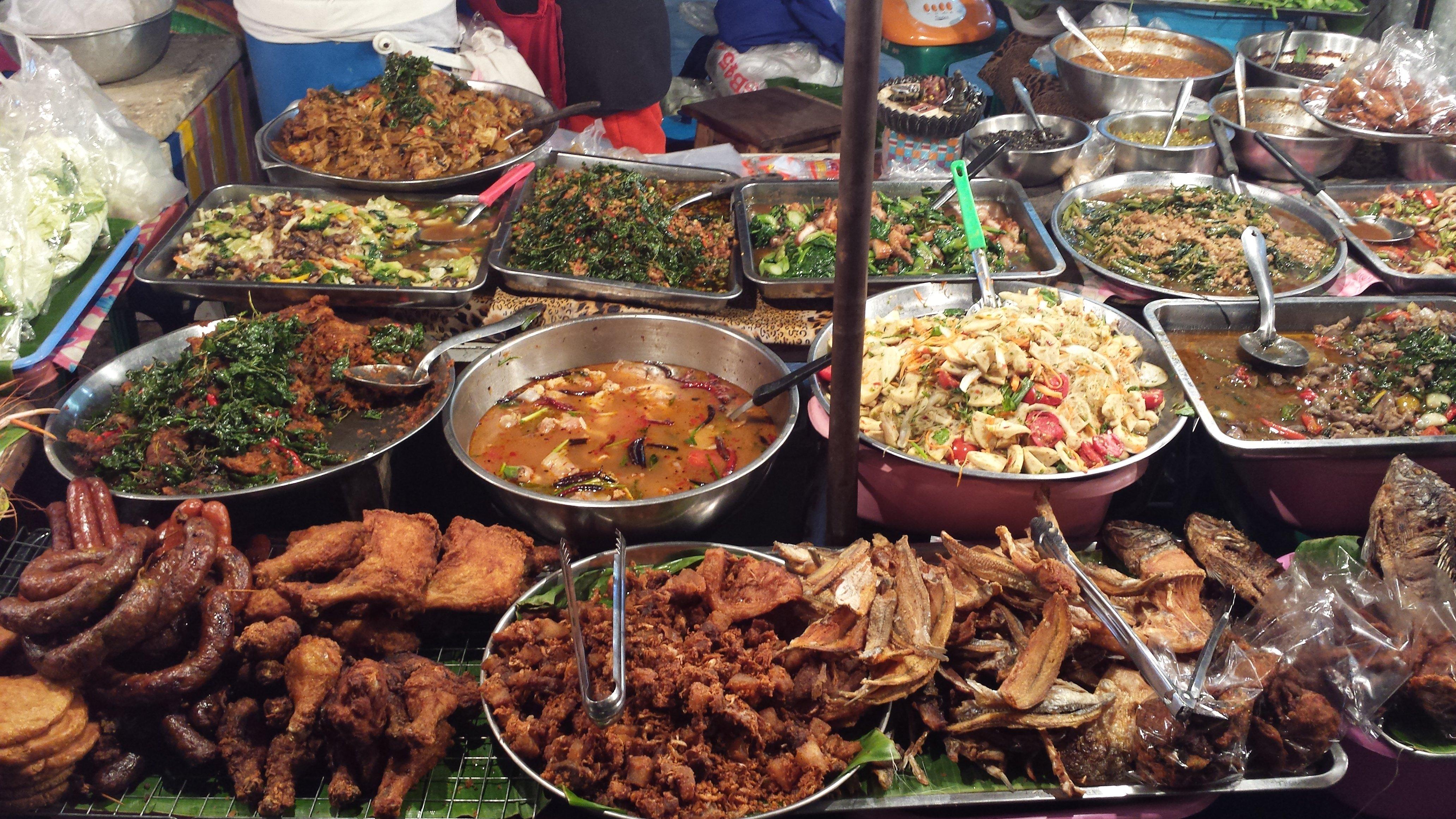 Streetfood vind je overal in Thailand