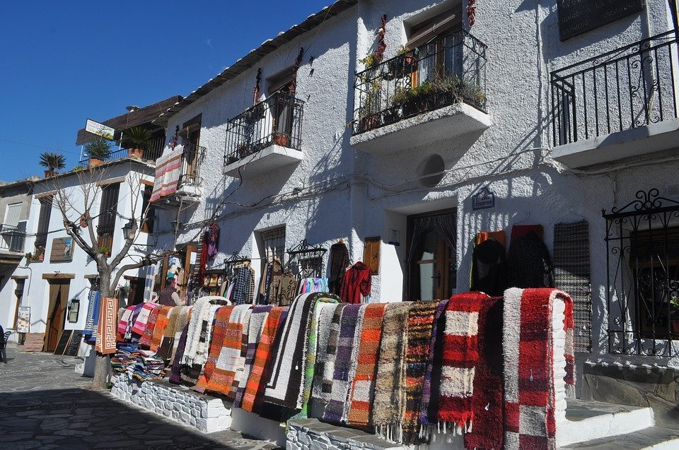 De Alpujarra dorpen in Andalisië