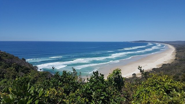Mooiste stranden van Australië - Main Beach - Byron Bay