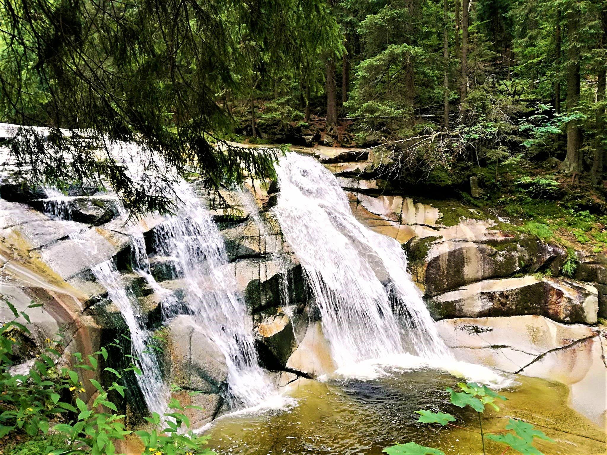 Tsjechië is rijk aan prachtige watervallen