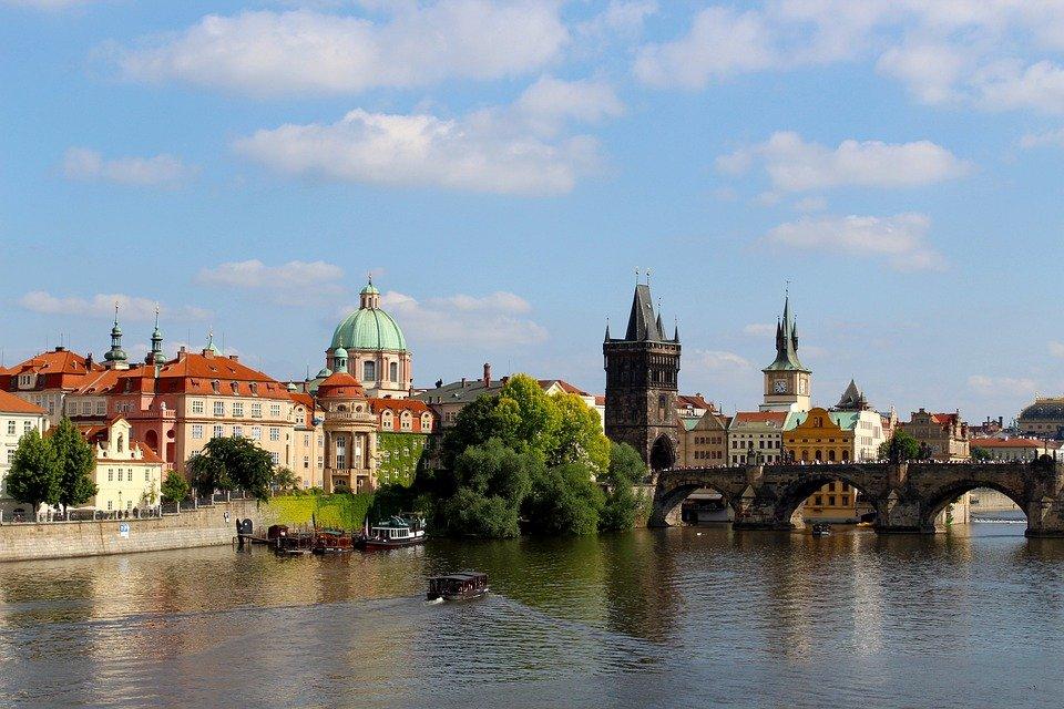 Moldau Praag