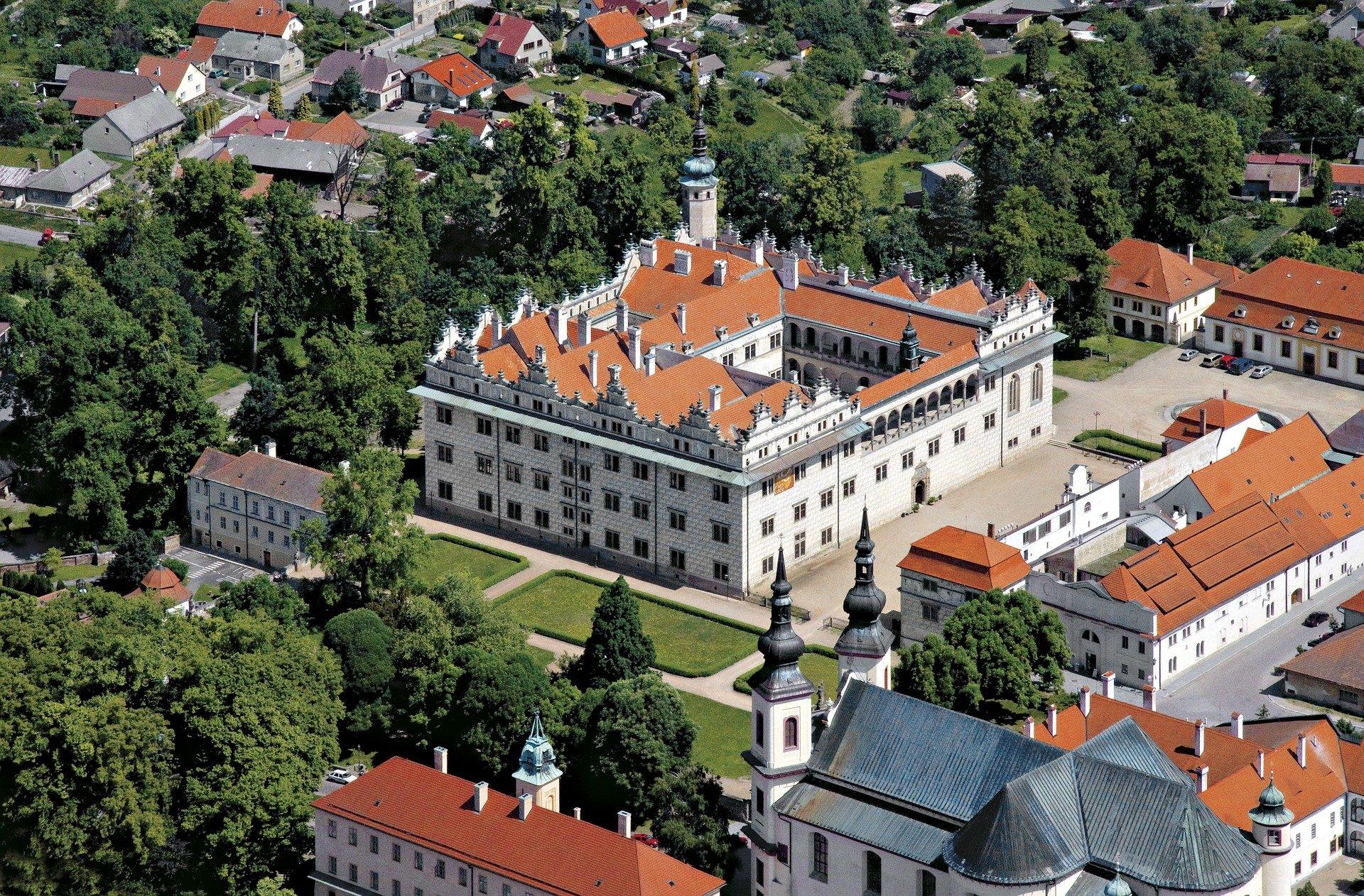 Kasteel van Litomyšl in Tsjechië