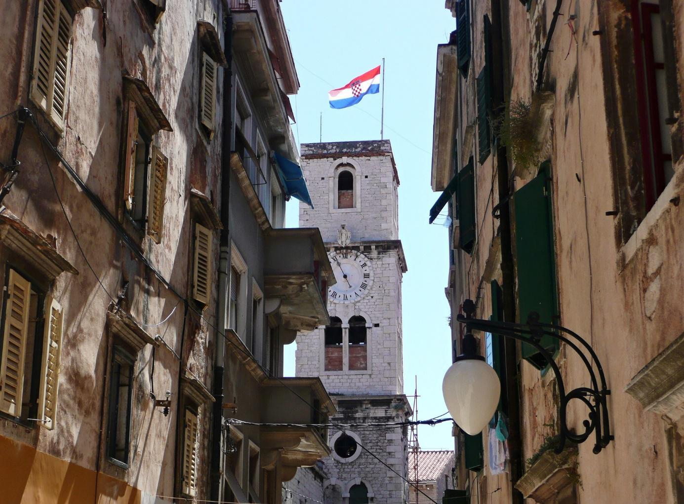 Sibenick oude stad