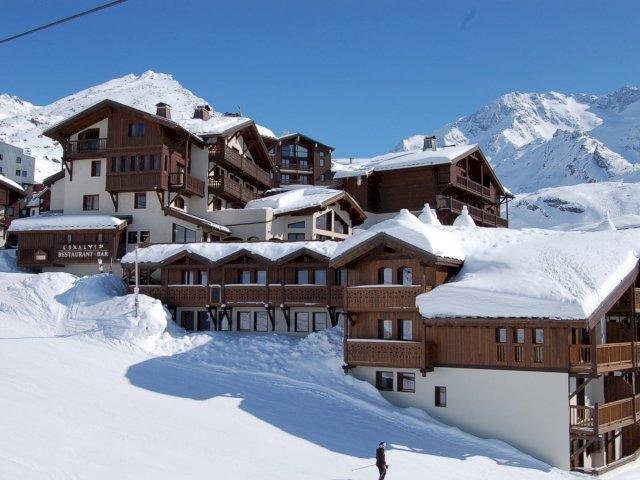 Het skigebied Alpen d'Huez