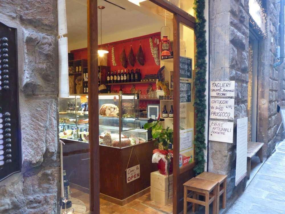 Aperitieven in I'cove de Ghiotto in Firenze