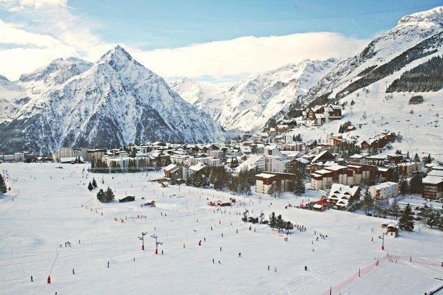 Skiën in Les Deux Alpes