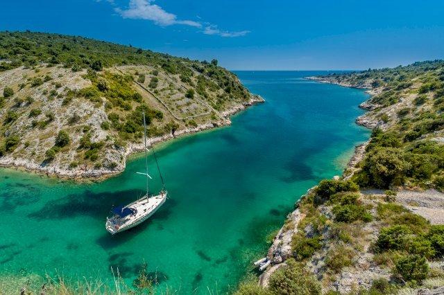 Trogir Kroatië Dalmatische Eilanden