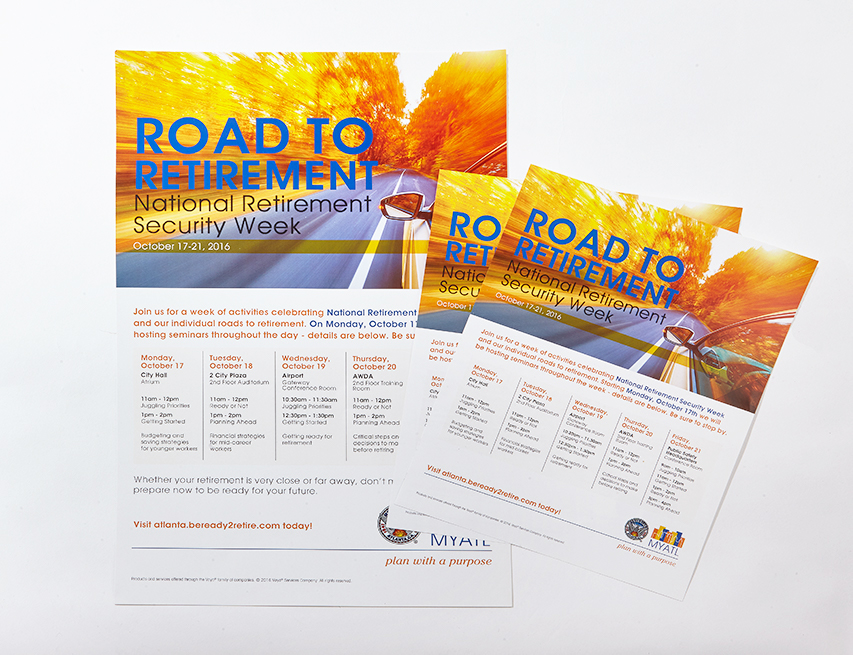 Flyer and Poster Print Products