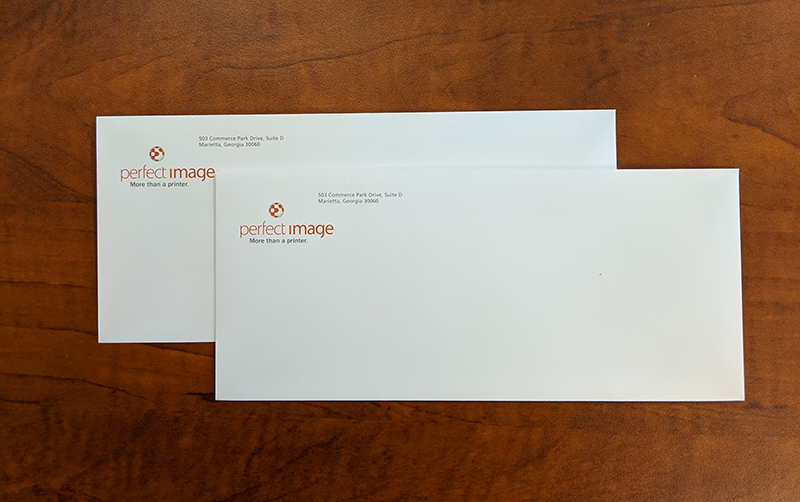 Two-color Printed #10 Envelope