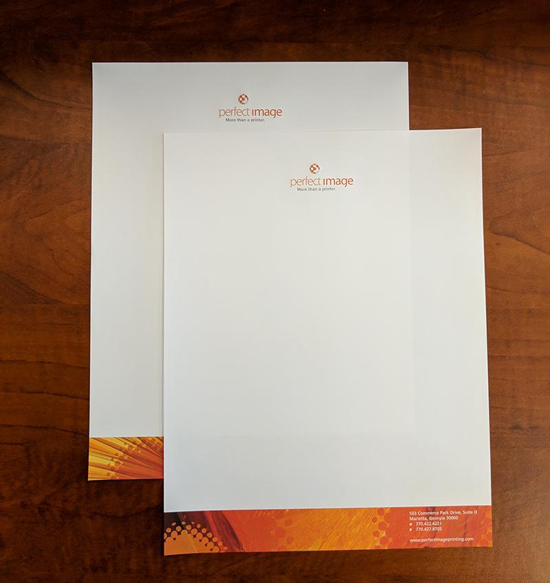 Full-color Printed Letterhead