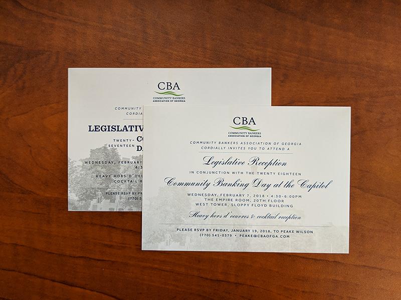 Printed CBA Post Cards