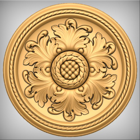 Architectural Elements - Medallions and Rosettes - AssembledLayout