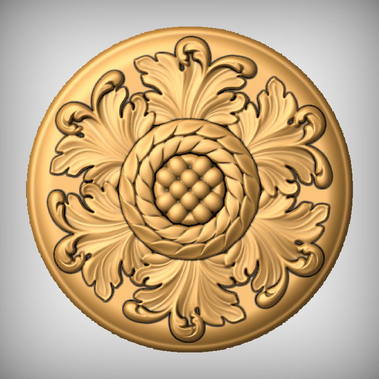 Architectural Elements - Medallions and Rosettes