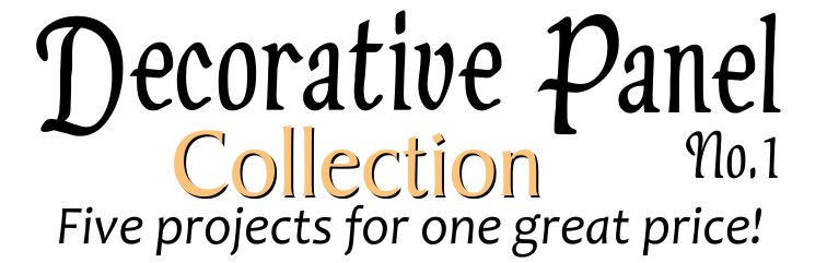 Decorative Panel Collection No.1 - Header