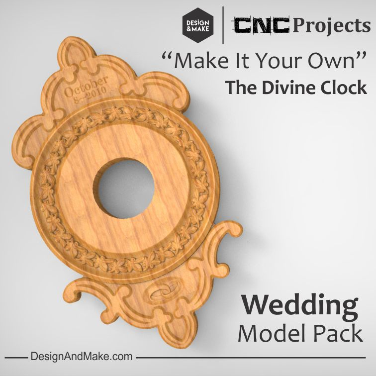 Divine Clock - Wedding Model Pack