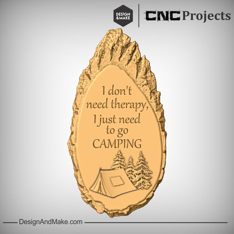 I don't need therapy, I just need to go camping