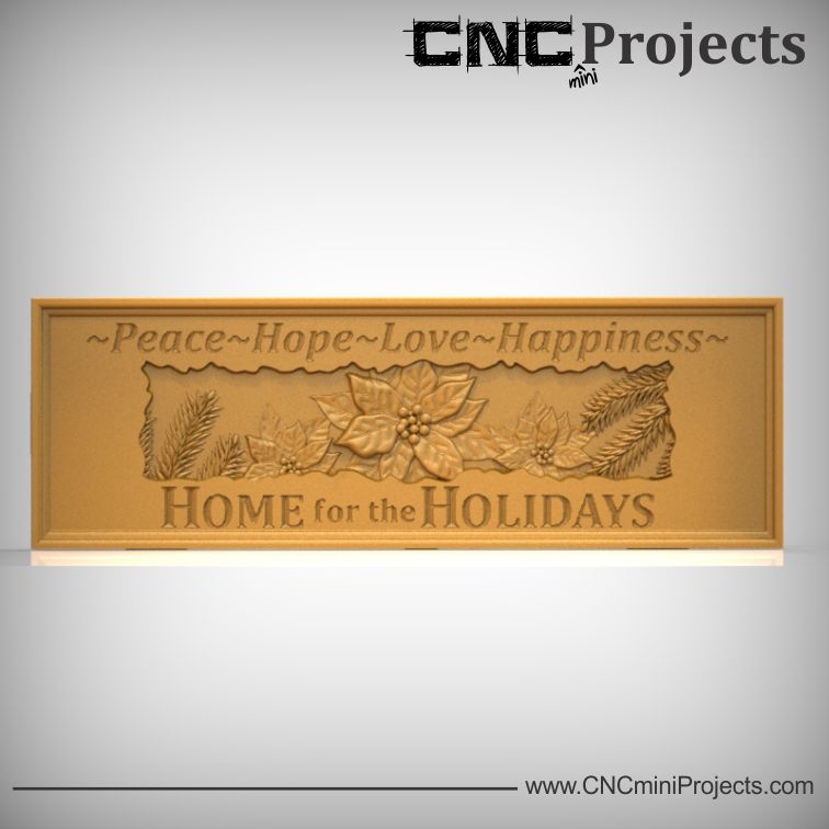 Holiday Home Decor Wall Plaque