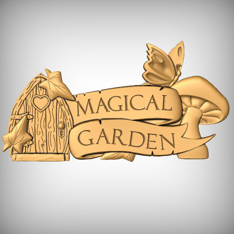 In The Magical Garden