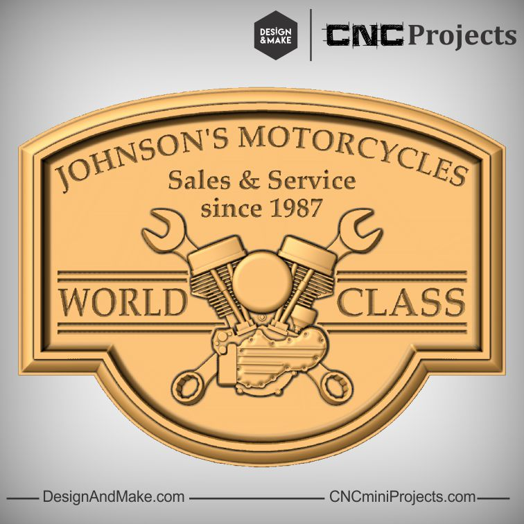 Johnson's Motorcycle sign
