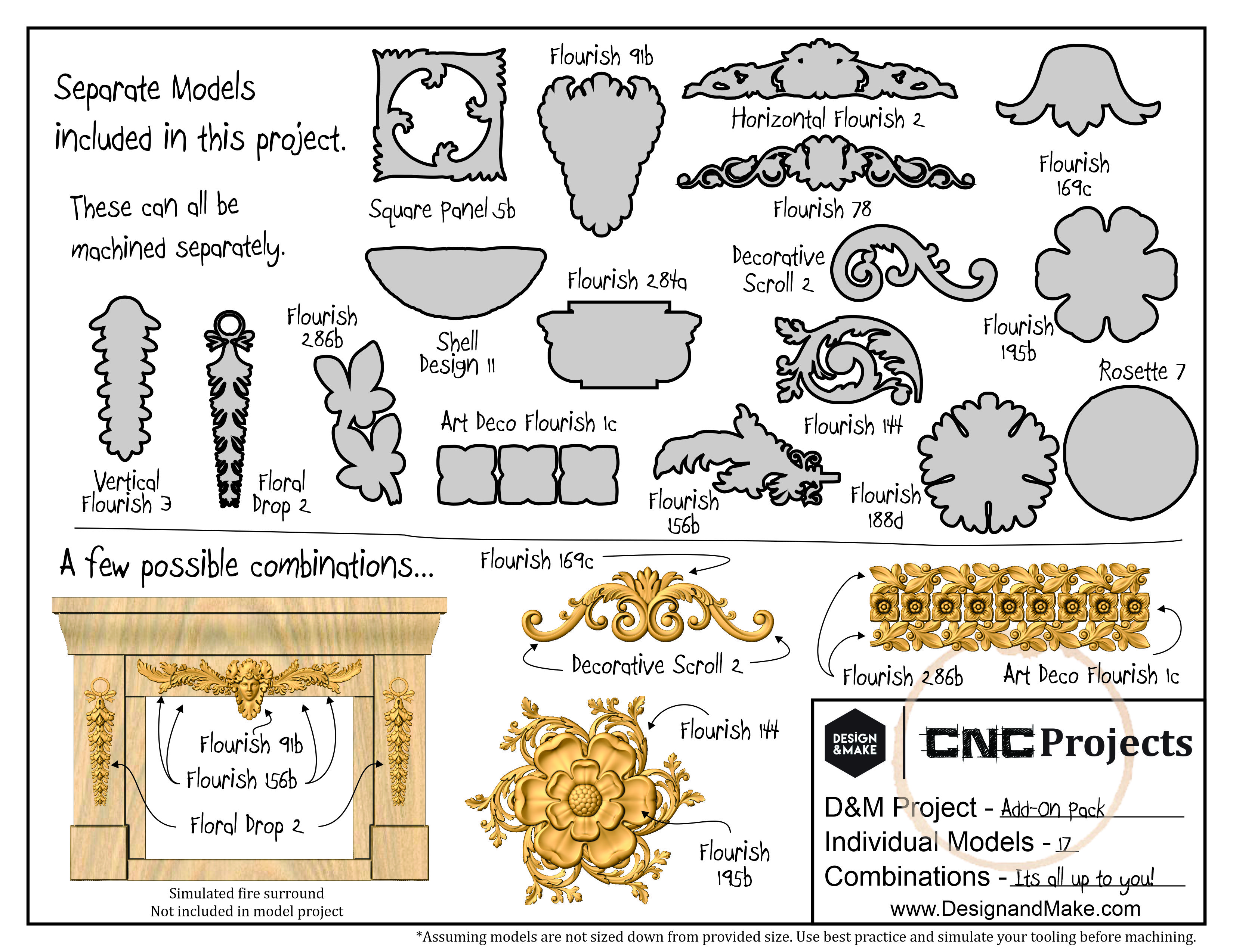 Architectural Elements - Add-on Pack - Project Sheet