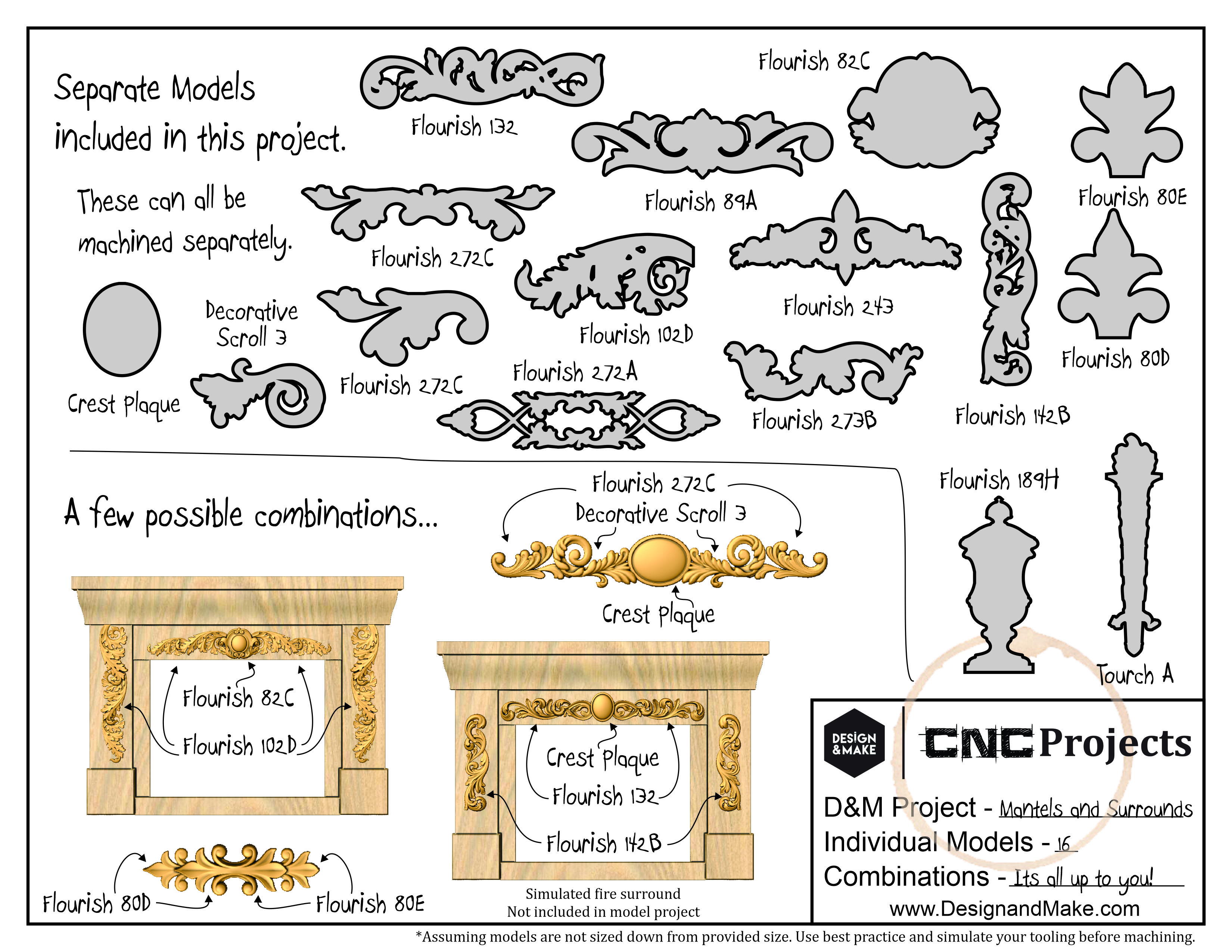 Architectural Elements - Mantels and Surrounds - Project Sheet
