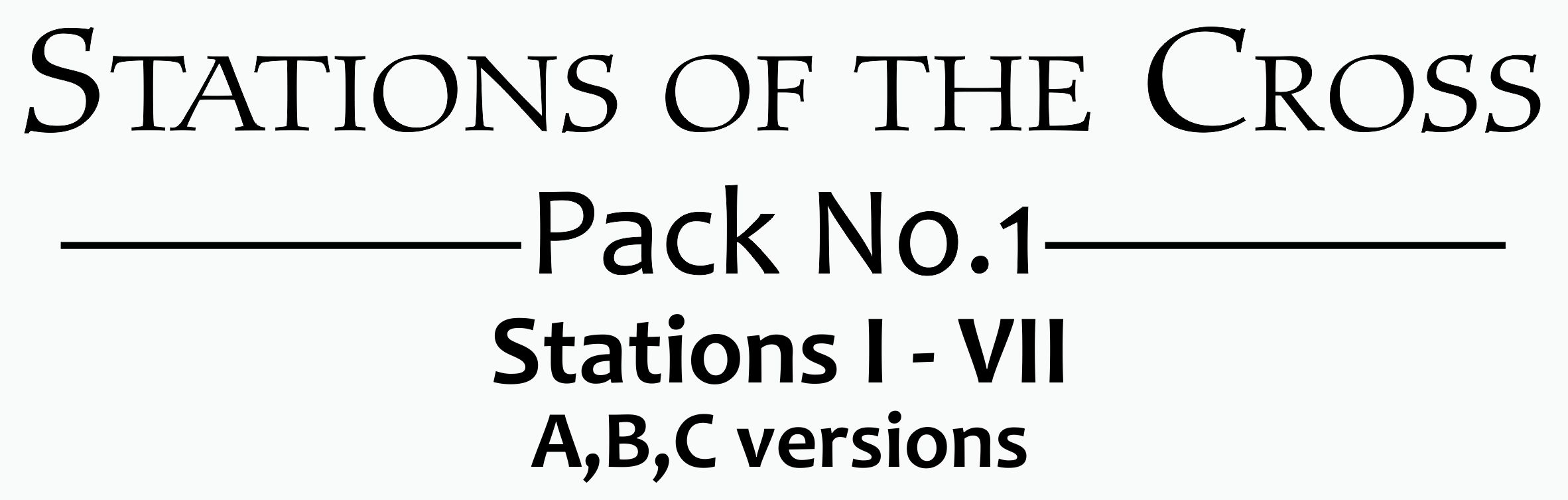 Signs of The Cross - Pack 1 - Banner - V2