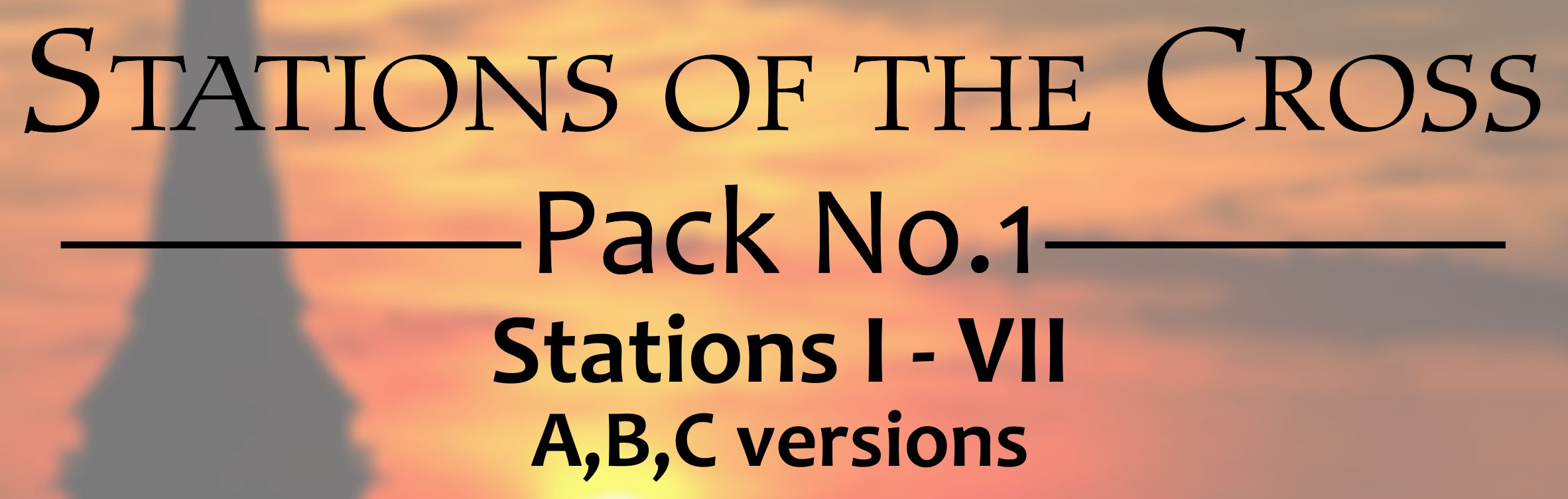 Signs of The Cross - Pack 1 - Banner