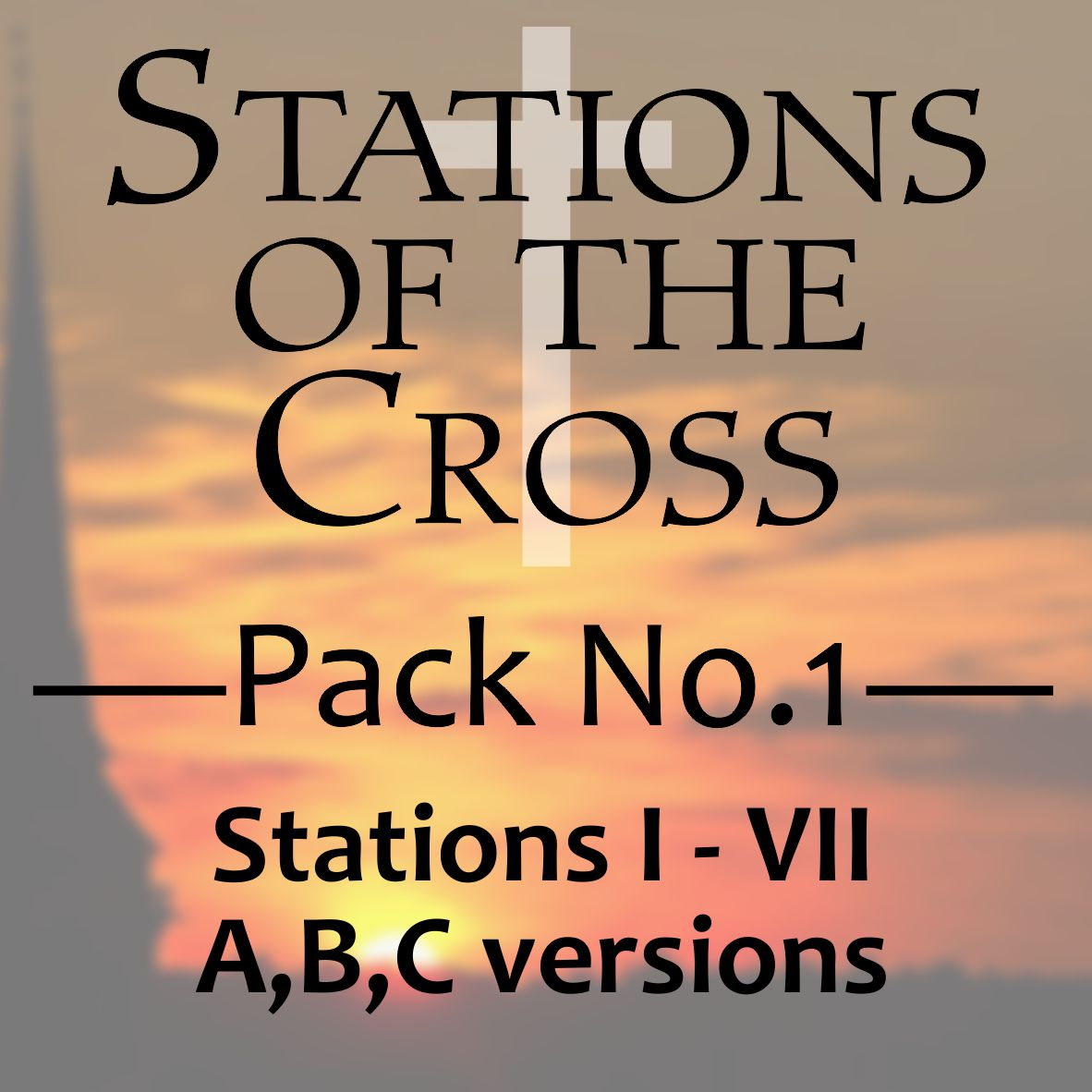 Stations of the Cross - I-VII