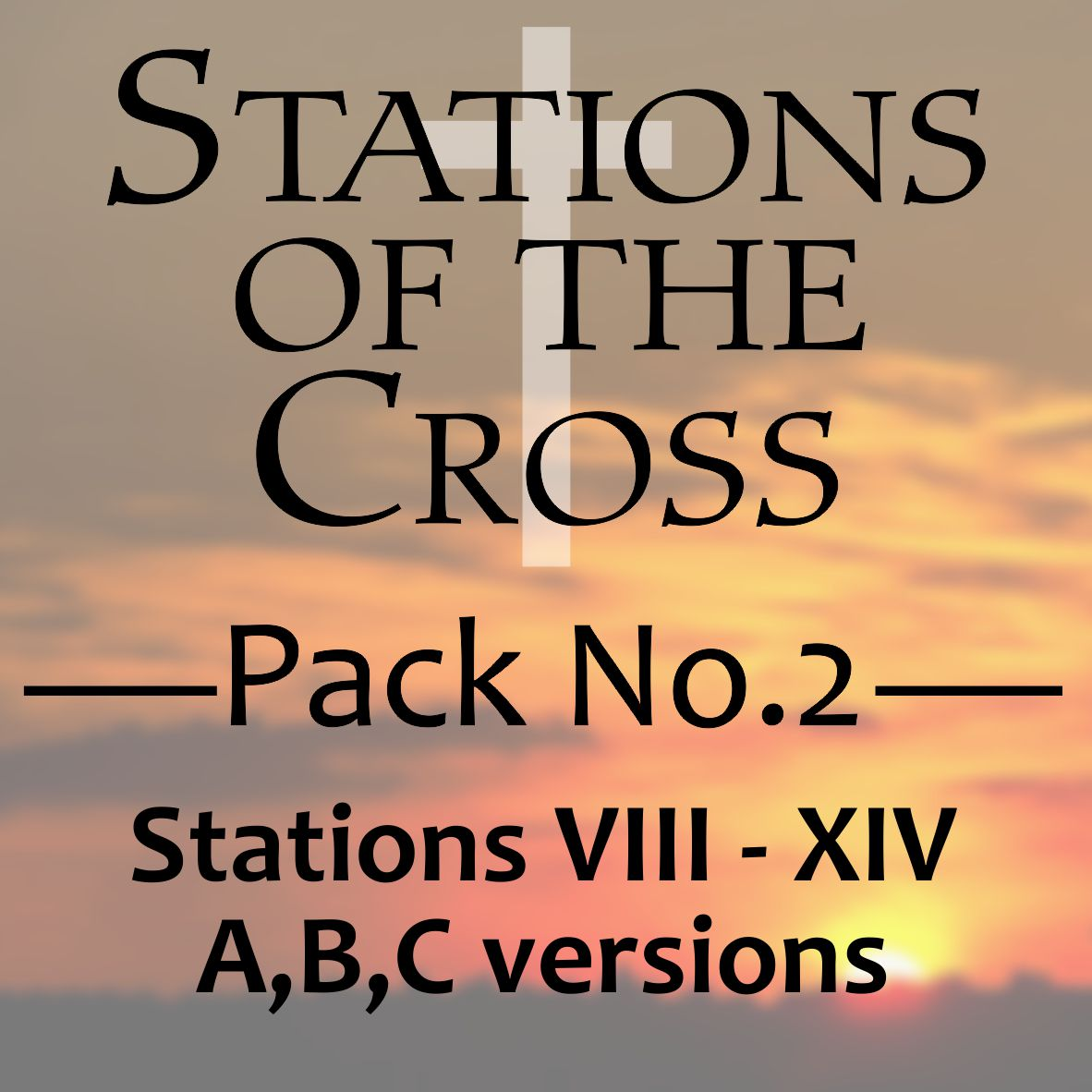 Stations of the Cross - VIII-XIV