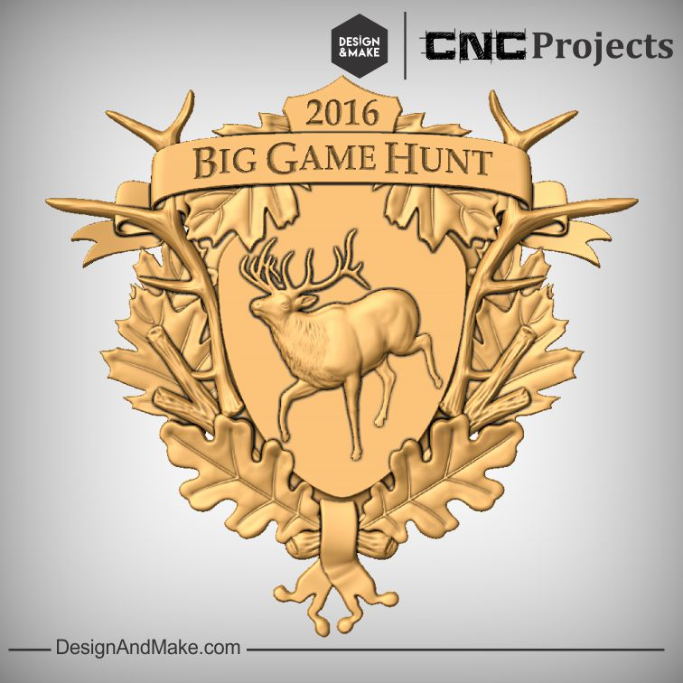 Big Game Hunt plaque
