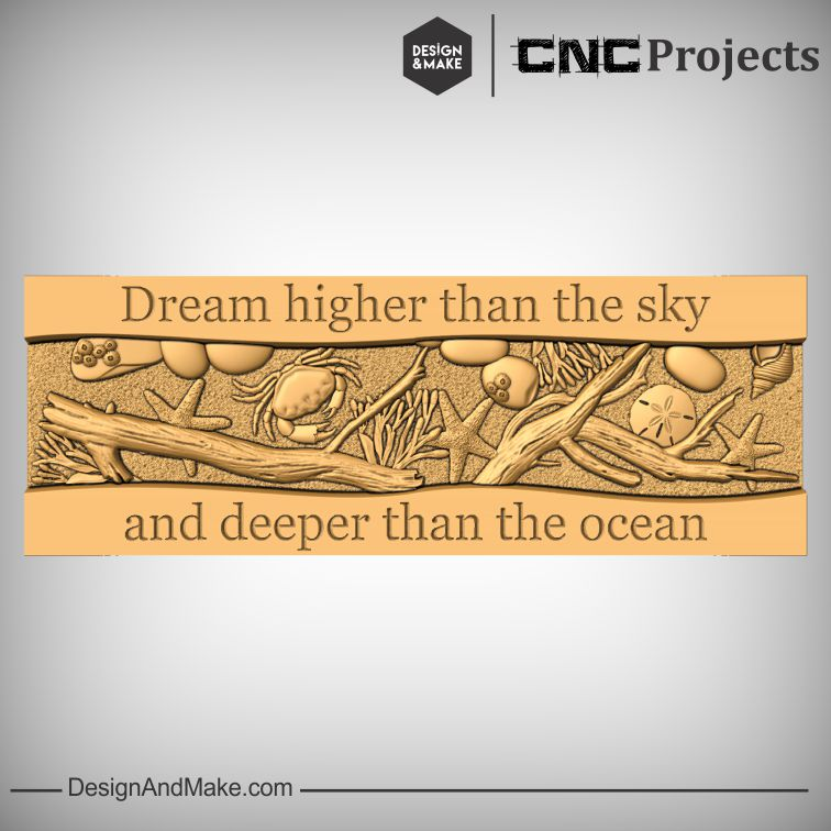 Dream Higher... motivational plaque