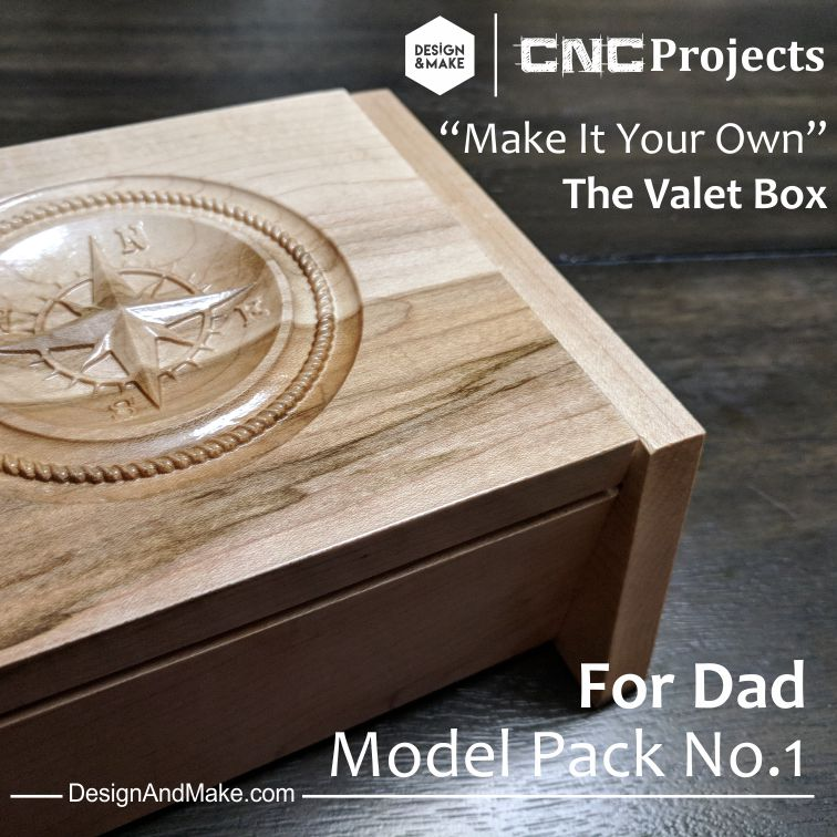 Valet Box Model Pack No.1 - For Dad