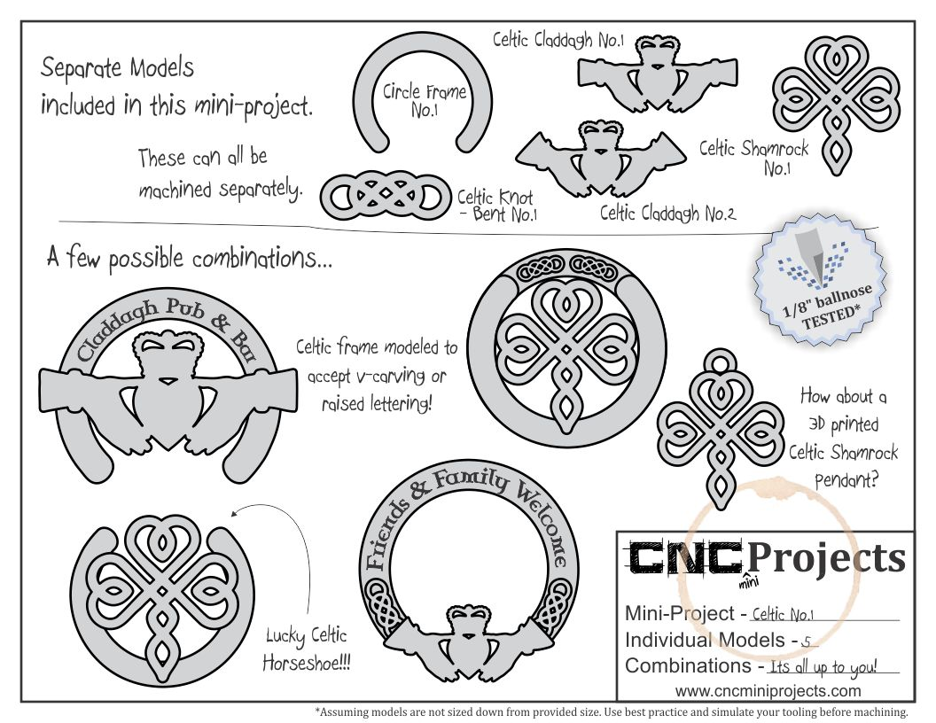 Design & Make Store - CNC Clipart