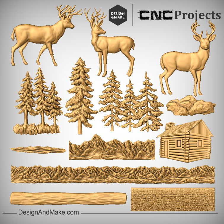 Deer Mantel - All Models