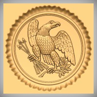 US Civil War Eagle 2A