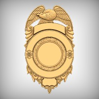 Fire/Police Badge 7