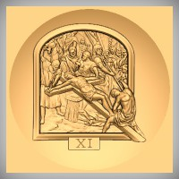 Stations of the Cross - XI