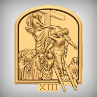 Stations of the Cross - XIII