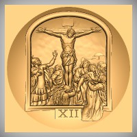 Stations of the Cross - XII