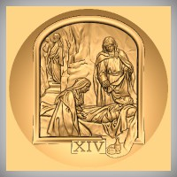 Stations of the Cross - XIV