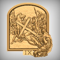 Stations of the Cross - IX